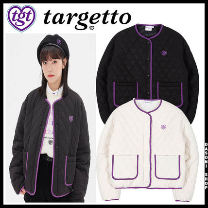 20FW ★TARGETTO★ COLORATION QUILTING JACKET ジャケット 2色
