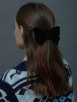 *Carrie Velvet Ribbon Hairpin_2Color/VINTAGE HOLLYWOOD*