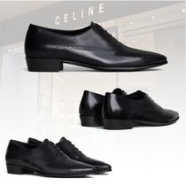 20 冬★新作★CELINE★RICHELIEU JACNO BRILLIANT CALFシューズ