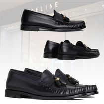 ★20 冬★新作★CELINE★LOAFER GLAZED CALF POMPOMS ローファー