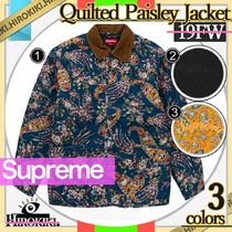 19FW /Supreme Quilted Paisley Jacket キルト ペイズリー JK