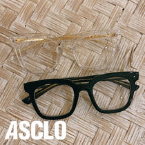 ASCLO Horn-Rimmed Glasses (2color)