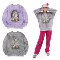 国内発送[SCULPTOR][UNISEX] Kitten Friends Tie-Dye Sweatshirt