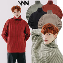 ★WV PROJECT★日本未入荷 韓国 Peanutbutter turtleneck Knit