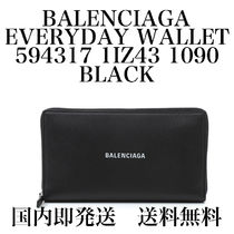 【国内即発】【送料無料】★EVERYDAY ROUNDWALLET★BLACK/LWHITE