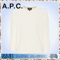 A.P.C.★新着★Zoe cotton-blend terrycloth sweater
