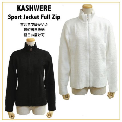 SALE◆国内即発◆ KASHWERE Sport Jacket Full Zip フルジップ
