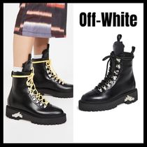Off-White♥Leather Hiking Bootsレザーハイキングブーツ