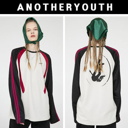 ANOTHERYOUTH◆20FW◆line raglan long sleeve◆ユニセックス