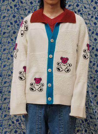 YOUTHBATH カーディガン ●YOUTHBATH● 20F/W  BEAR CHECK CARDIGAN 2色