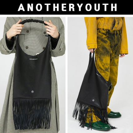 ANOTHERYOUTH◆20FW◆leather tassel bag◆ユニセックス