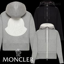 Moncler 2020AW★背面ビッグロゴ入フード付カーディガン★送関込