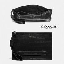 ☆COACH☆新作セカンドバッグ メンズ ポーチ♪追跡付 送料込み!!