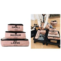 【bag-all】 PACKING CUBES PINK かわいい新色ピンク3つセット
