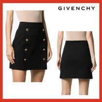 VIP価格【GIVENCHY】Mini skirt with 4g buttons 関税込