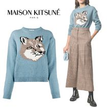 Maison Kitsune★FOX HEAD ニット