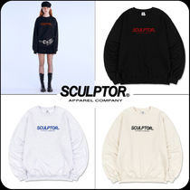 [ SCULPTOR]★韓国大人気★Flocking Logo Sweatshirt