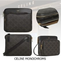 20冬★新作★CELINE★MESSENGER BAG SMALL CANVAS TRIOMPHE