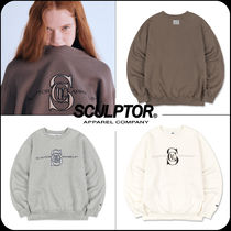 [ SCULPTOR]★韓国大人気★ Satin Applique Sweatshirt