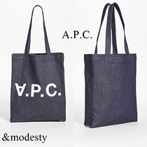 【A.P.C.】ロゴ Laure トートバッグ