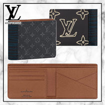 ◆Louis Vuitton 20PF 最新◆MULTIPLE WALLET 二つ折り財布◆黒