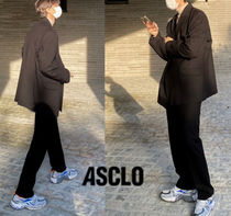 ASCLO canto half wool double suit
