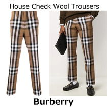 ▽国内発送・関税込▽Burberry▽House Check Wool Trousers