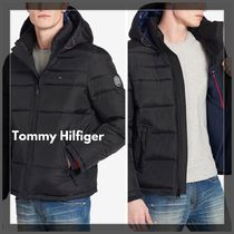 ☆Tommy Hilfiger☆ Men's Quilted Puffer Jacket 定番Black