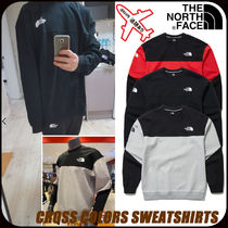 【THE NORTH FACE】CROSS COLORS SWEATSHIRTS★男女兼用★
