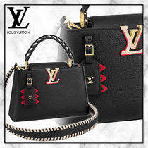 ◆Louis Vuitton 20PF 最新作◆LV CRAFTY CAPUCINES PMバッグ◆