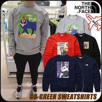 【THE NORTH FACE】GO-GREEN SWEATSHIRTS★男女兼用★