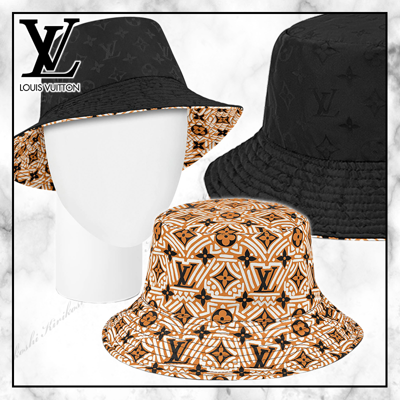 ◆Louis Vuitton 20PF 最新作◆LV CRAFTY リバーシブルハット◆ (Louis Vuitton/ハット) 60443010