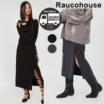 Raucohouse Soft Deep Slit Skirt BBH781 追跡付