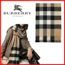 ◆BURBERRY◆CHECK CASHMERE SCARF◆正規品◆