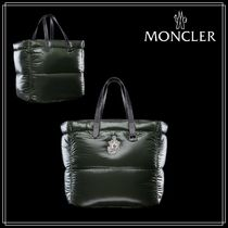 1 MONCLER JW ANDERSON★QUACK TOTE★ナイロン/ダウン/フェザー