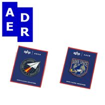 ★Adererror×alphaindustries★コラボ Badge