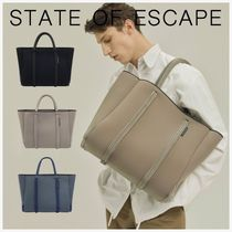 【State of Escape】 トート バッグ ユニセックス ネオプレン