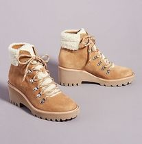 関税込み☆追跡あり☆Dolce Vita Hanley Wedge Lace-Up Boots