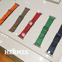 HERMES◆Apple Watch レザーベルト 40/44mm SIMPLE 各カラー
