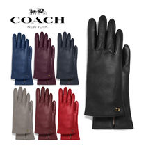◆COACH◆Leather tech gloves レザー 手袋
