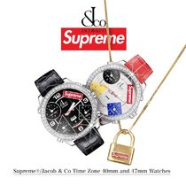 FW20 Supreme Jacob & Co Time Zone Watch - ジェイコブ 時計