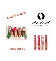 Too Faced☆Christmas Snuggles & Melted Kisses Lipstick Set