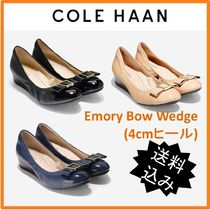 【 Cole Haan 】Emory Bow Wedge(4㎝ヒール)