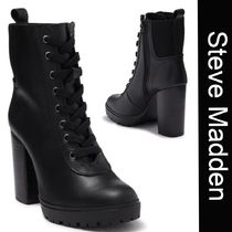 SALE【Steve Madden】Latch★レースアップ美脚ブーツ