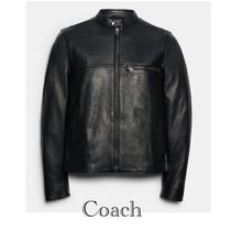 SALE♪COACH Leather Racer Jacket レザージャケット
