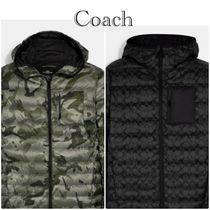 SALE♪COACH Packable Hooded Down Jacket ダウンジャケット