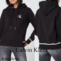【Calvin Klein Jeans】EMBROIDERY TIPPING ロゴパーカー