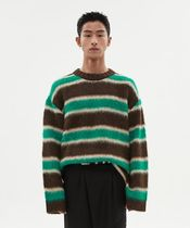 ANDERSSON BELL - Unisex alpaca striped sweater