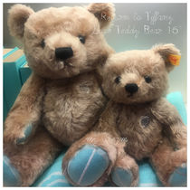 "Tiffany & Co★Return to Tiffany Love Teddy Bear 16"" 大きめ"