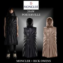20AW★最新コラボ★MONCLER+RICK OWENS★PORTERVILLE ベスト